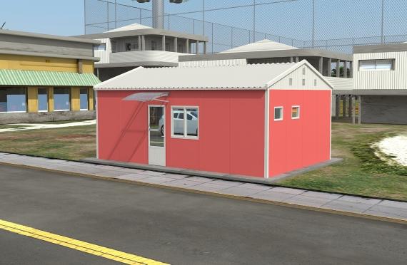Clădire de Birou Modular 40 m²
