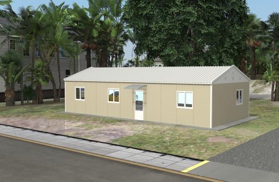 Clădire de Birou Modular 90 m²