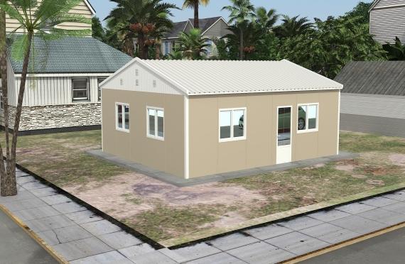 Clădire de Birou Modular 49 m²