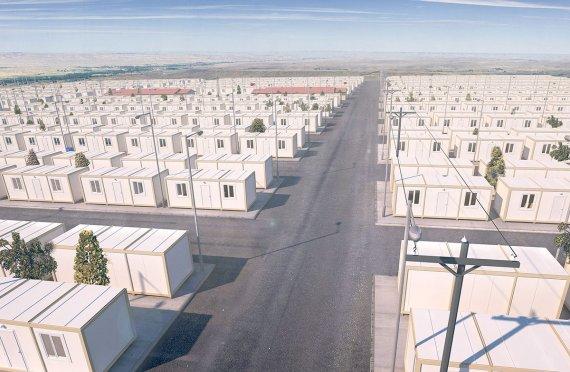 Containere Mai Buna Pentru Refugiati