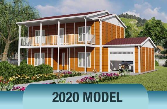 Proiecte case cu 2 etaje