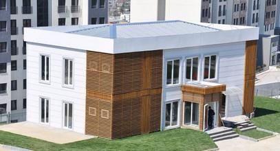 Biroul de vânzări prefabricate de lux pentru proiectul Bosphorus City