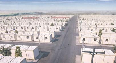Proiectul de locuințe pentru refugiați sirieni
