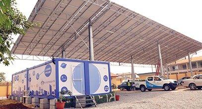 Containerul de nouă generație ale lui Karmod este utilizat pentru stocarea energiei solare în Nigeria