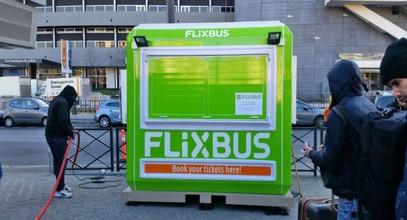 Cabine de Bilete ale lui Flixbus de la Karmod