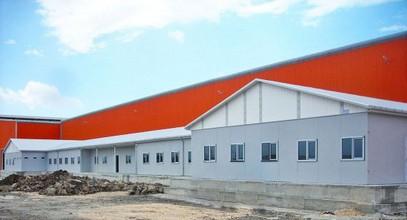 Un proiect prefabricat de lucrări pentru compania Ufuk Boru a fost finalizat