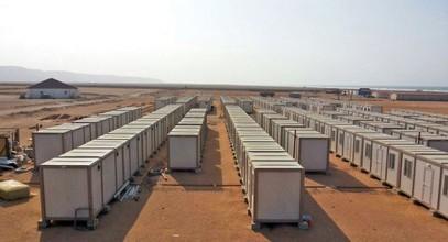 Compania noastră a înființat șantiere de construcție pentru muncitorii în minele pentru dobândirea aurului în Guineea
